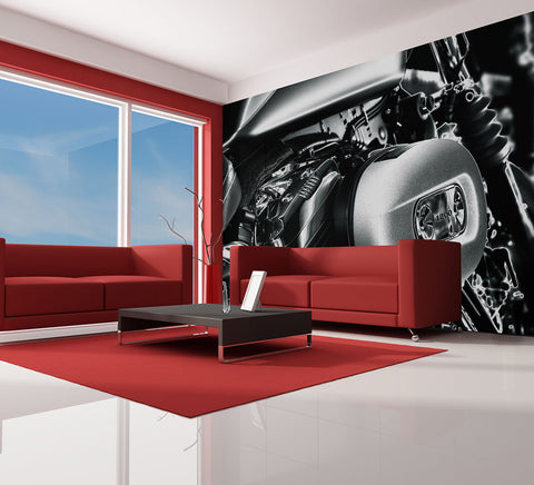Chrome Dream - Full Wall Mural