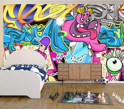 Comic Art - Full Wall Mural