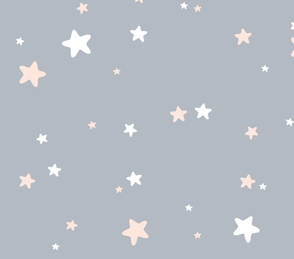 Coloured Stars - Full Wall Mural