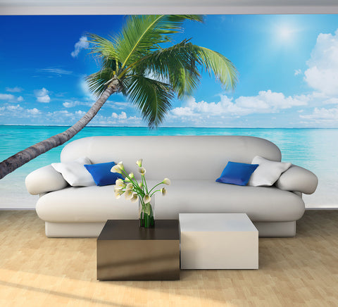 Deserted Island - Full Wall Mural