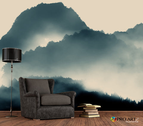 Dark Forest - Full Wall Mural