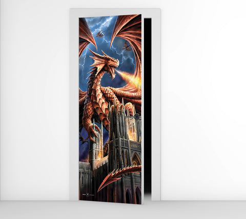Dragon Fury - Door Mural