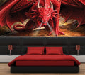 Dragons Lair - Half Wall Mural