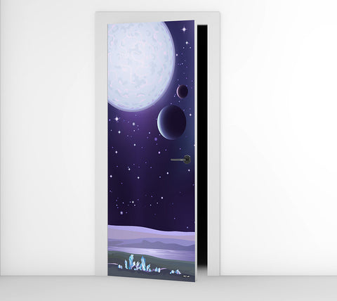 Dark Moon - Door Mural