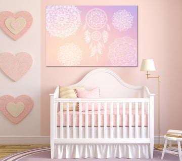 Dreamy Pink - Canvas