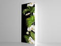 Tropical Orchid - Door Mural