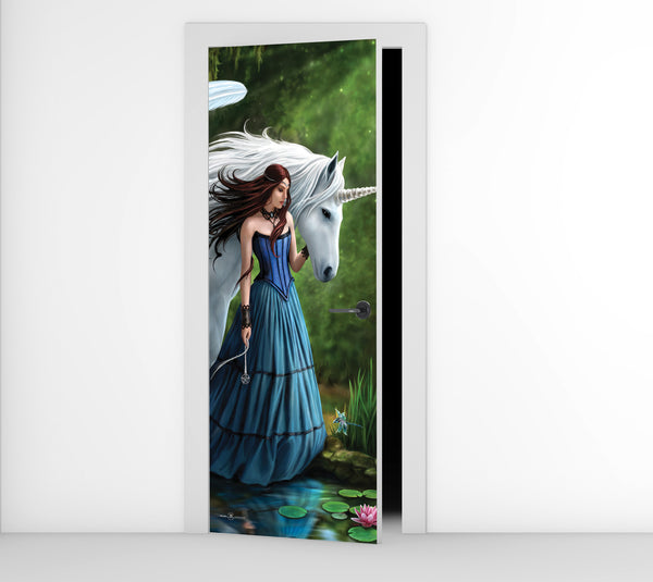 Enchanted Pool - Door Mural