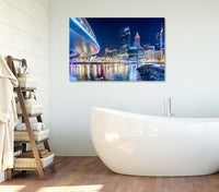 Elizabeth Quay Reflection - Acrylic Print