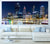 Elizabeth Quay by night - Half Wall Mural