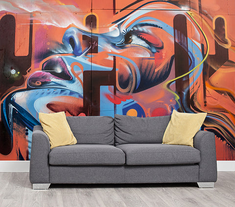 Exhale - Full Wall Mural