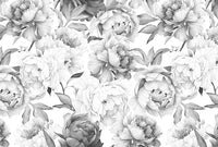 Floral Romance - Full Wall Mural
