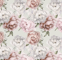 Field of Peonies - Full Wall Mural