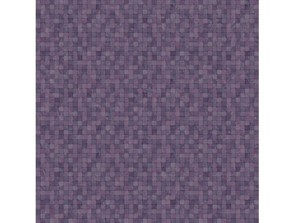 Tiny Tile Purple Natural FX Wallpaper