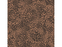 Leopard Skin Black & Brown Natural FX Wallpaper
