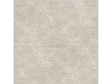 Crocodile Skin Grey Natural FX Wallpaper