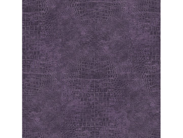 Crocodile Skin Purple Natural FX Wallpaper