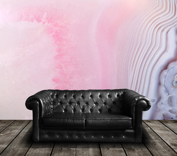 Geode Pink - Full Wall Mural