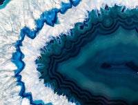 Geode Blue - Full Wall Mural