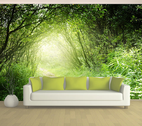 Garden Path - Full Wall Mural