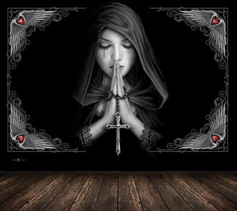Gothic Prayer - Anne Stokes - Full Wall Mural