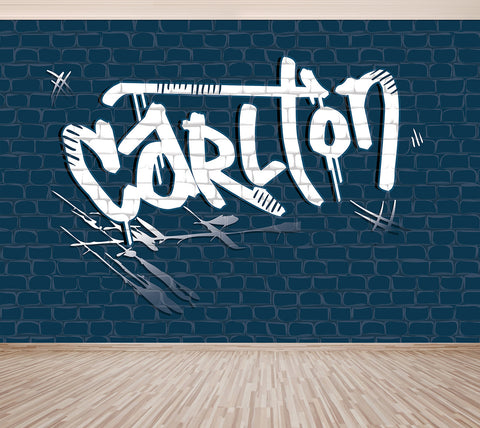 Graffiti Carlton - Full Wall Mural