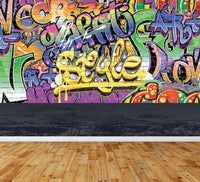 Graffiti Art - Full Wall Mural