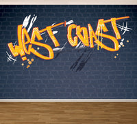 Graffiti West Coast - Full Wall Mural