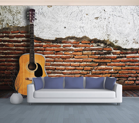 Guitar Room - Full Wall Mural