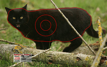 Group 1 - Feral Cat Broad Side Target Set of 5 - Australian Feral Set