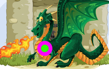 Dragon Castle - 720 x 460mm Fun Shoot Target
