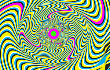 Hypnotic - 720 x 460mm Fun Shoot Target
