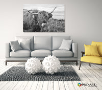 Happy Cow - Canvas