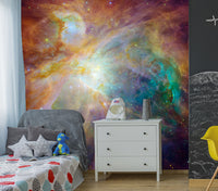 Spitzer and Hubble - Full Wall Mural