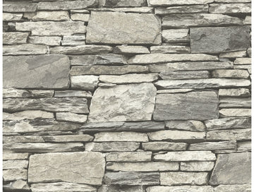 Layered Stone Wallpaper