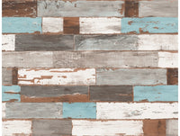 Reclaimed Planks Wallpaper