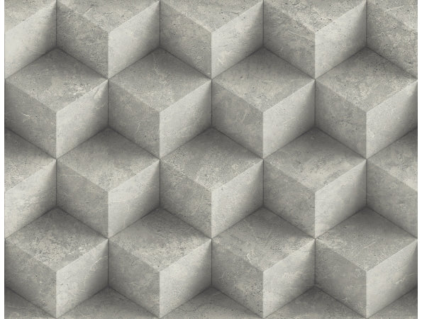 3D Concrete Diamonds IR70800 Modern Foundation Wallpaper