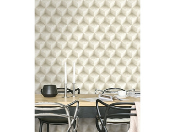 3D Concrete Diamonds IR70805 Modern Foundation Wallpaper