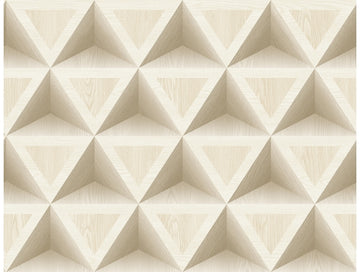 3D Wood Geometric  IR71405 Modern Foundation Wallpaper