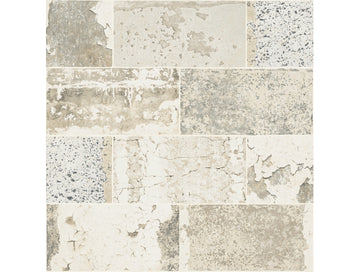 Distressed Tile IR71905 Modern Foundation Wallpaper
