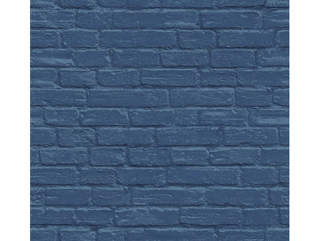 Bricks Blue IR72002 Modern Foundation Wallpaper