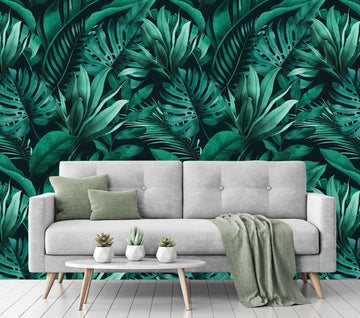 Jungle Vibes - Full Wall Mural