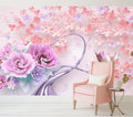 Lilac Tree - Full Wall Mural