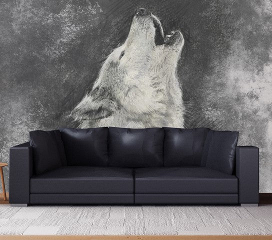 Lone Wolf - Full Wall Mural