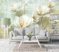Magnolia - Full Wall Mural
