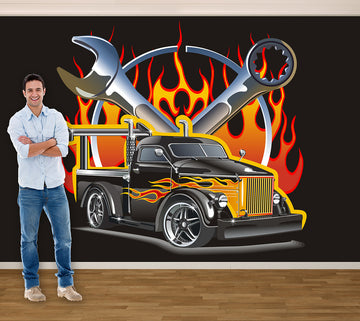 Muscle Truck - Full Wall Mural