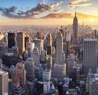 New York Skyline - Full Wall Mural