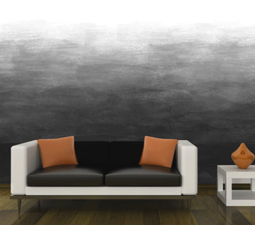 Ombre - Black - Full Wall Mural
