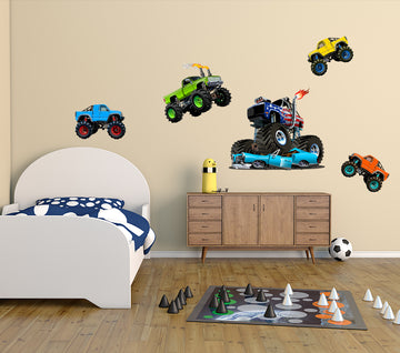 Monster Trucks - Cut Outs