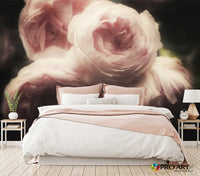 Peony Bouquet - Full Wall Mural