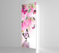 Pretty Butterfly - Door Mural